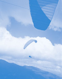 Paragliding cross-country training courses